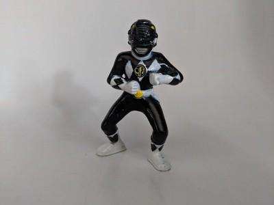 Mighty Morphin Power Rangers collectible figures Black Ranger