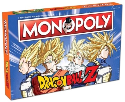 ORDER:  Dragonball Z Monopoly