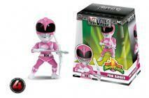 """Power Rangers - Pink Ranger 4"""" Metals"""