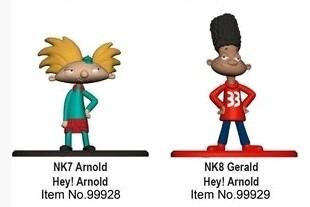 Nickelodeon - Nano Metalfigs Hey Arnold Set of 2