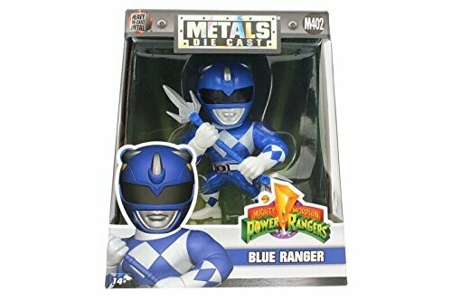 "Power Rangers - blue Ranger 4"" Metals (vaulted)"