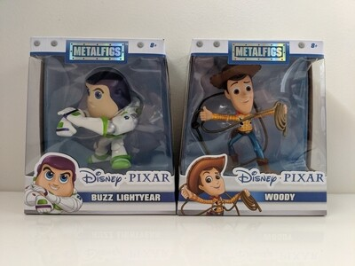 Toy story: buzz and woody Metals Die Cast Jada