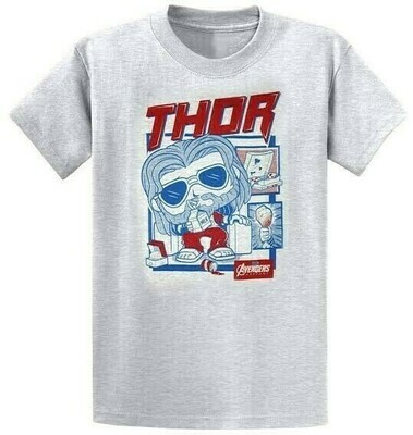 Funko POP Thor Marvel Collector Corps Avengers Endgame Exclusive T-Shirt