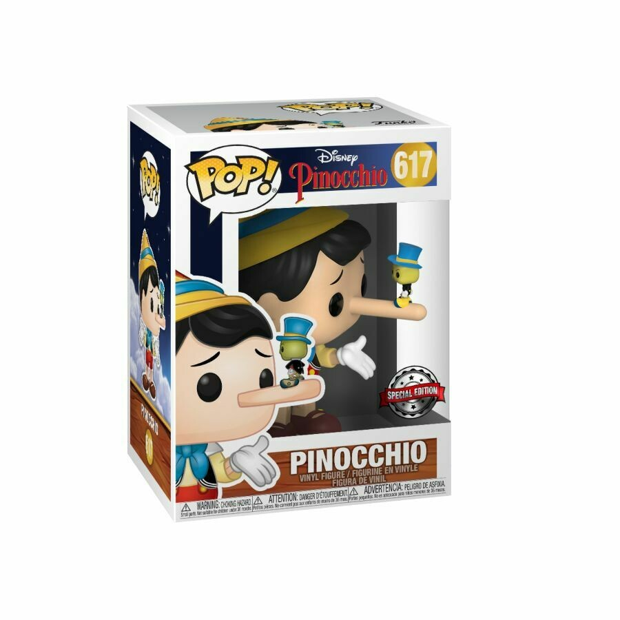 Pinocchio - Pinocchio with Jiminy Cricket Pop! Vinyl