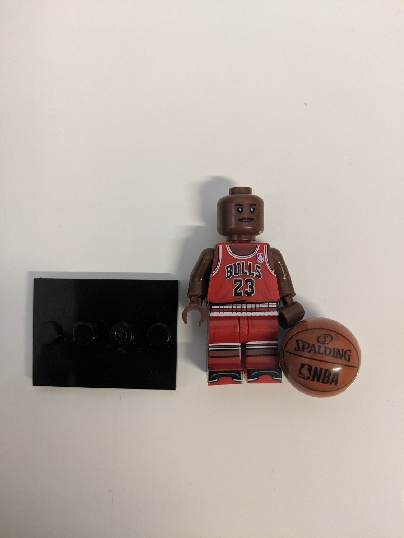 Lego Mini-figure NBA Michael Jordan