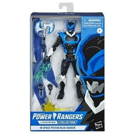 Hasbro Power Rangers: Power Rangers In Space: Lightning Collection Action Figure: Psycho Blue Ranger