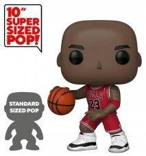 "Pre-Order: NBA: Bulls - Michael Jordan Red Jersey US Exclusive 10"" Pop! Vinyl"