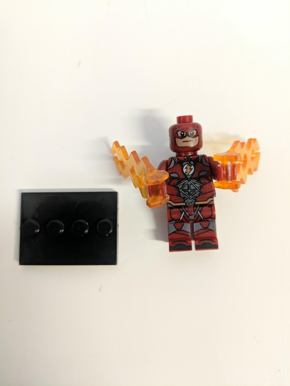 Lego Minifigure the flash