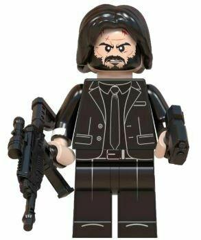 Lego Minifigure John Wick
