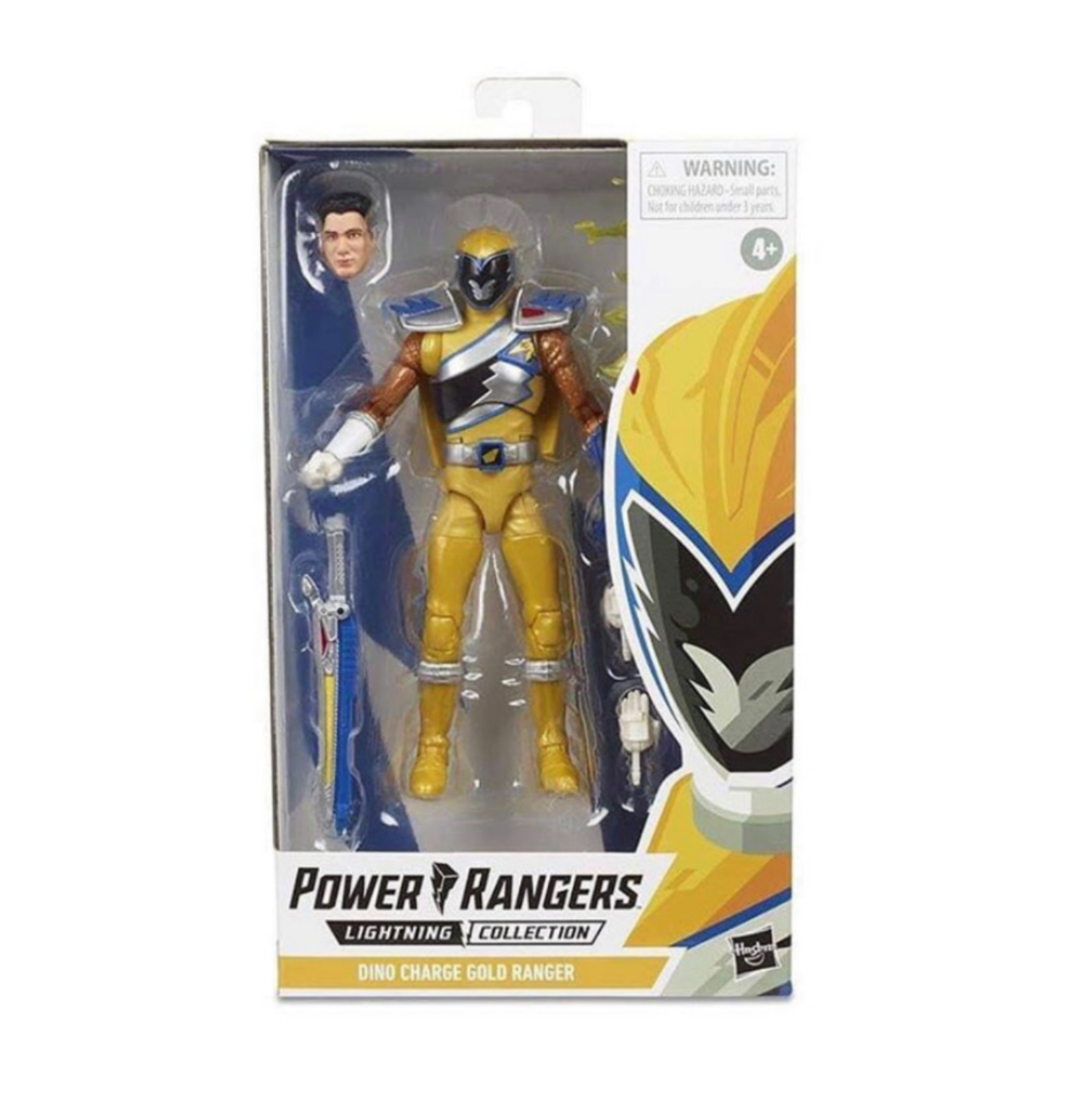 Hasbro's Lightning Collection Dino Charge Gold Ranger Figure