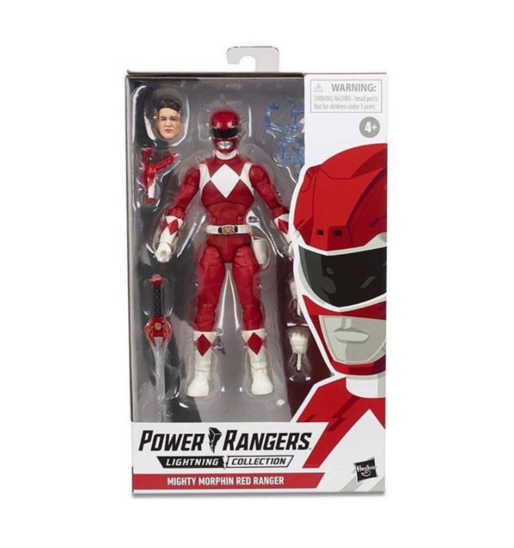 Hasbro's Lightning Collection MMPR Red Ranger Figure