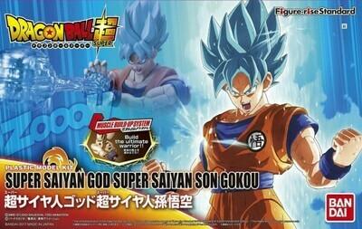 ORDER: DRAGONBALL SUPER - FIGURE-RISE STANDARD - SUPER SAIYAN GOD SUPER SAIYAN SON GOKOU