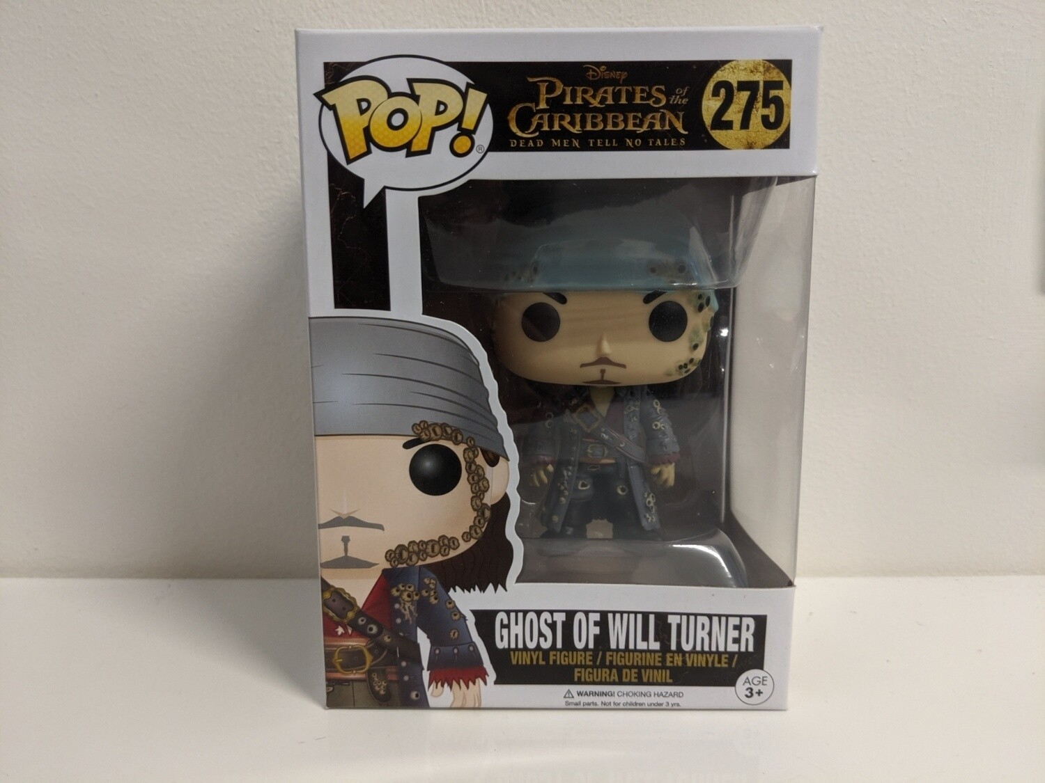 Pirates of the Caribbean- Ghost of Will Turner Pop! Vinyl (NFR)