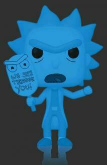 Rick & Morty - Hologram Rick (See You) Glow US Exclusive Pop! Vinyl [RS]