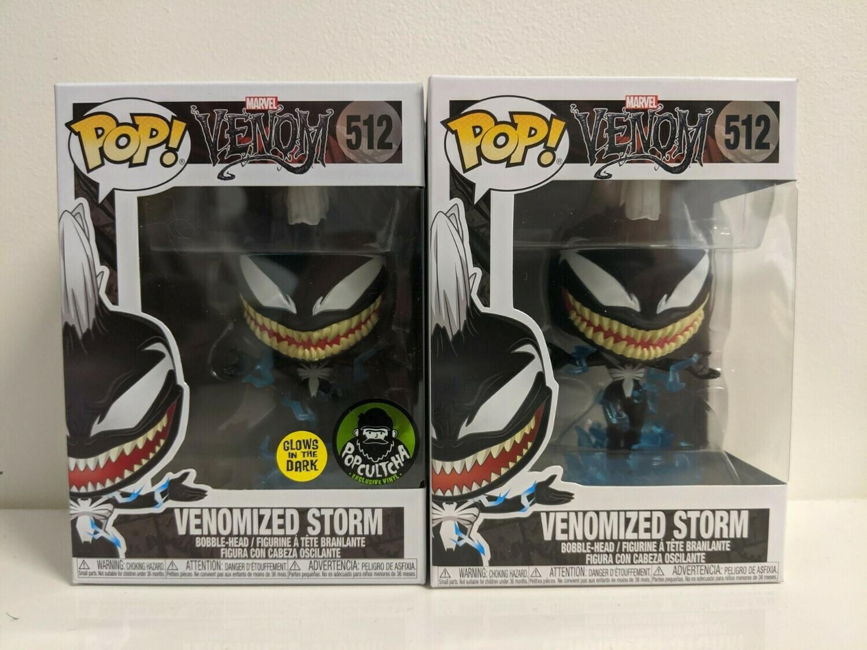 Venom - Venomized Storm Pop! Vinyl GITD Bundle