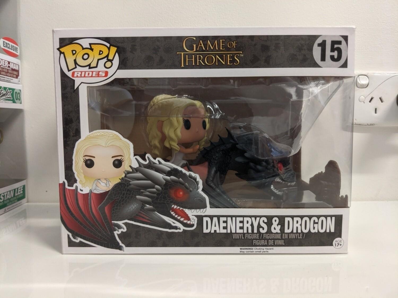 Game of Thrones - Drogon & Daenerys Pop! Ride