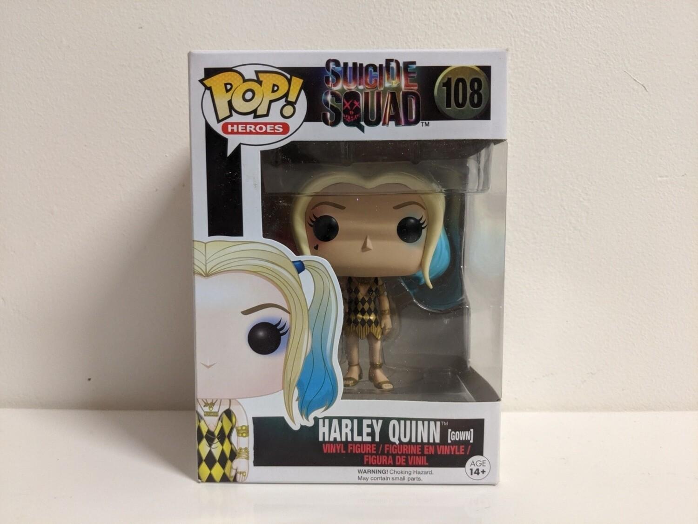 Suicide Squad- Harley Quinn Gown Pop! Vinyl 108