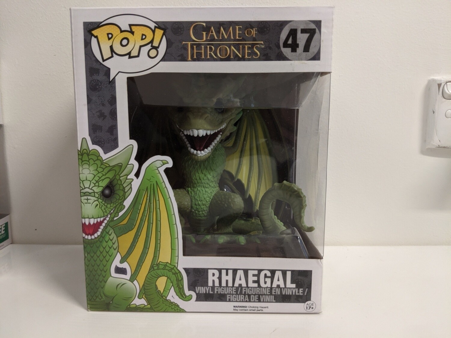 "Game of Thrones - Rhaegal 6"" Pop! Vinyl 47"