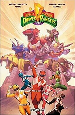 Mighty Morphin Power Rangers, Vol. 5: Volume 5 Paperback Comic