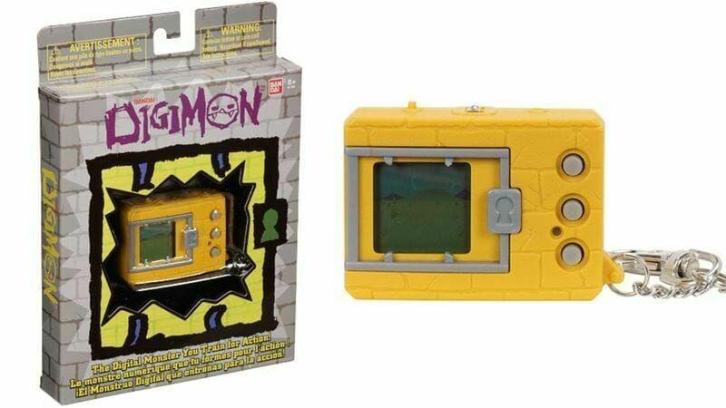 DIGIMON - ORIGINAL DEVICE Digimon 20th Anniversary Yellow