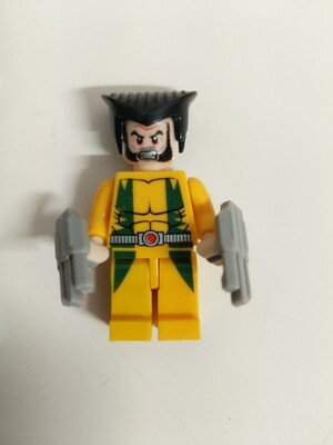 Lego Minifigure X-men- wolverine