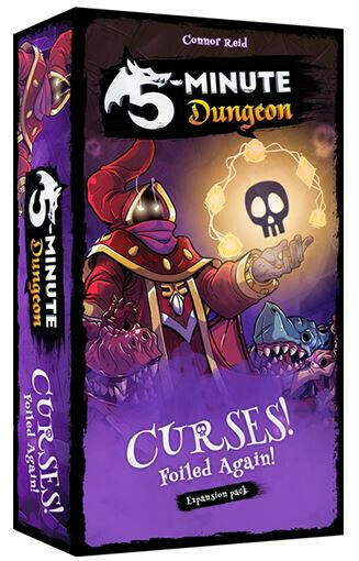 5 Minute Dungeon - Curses, Foiled Again! Expansion