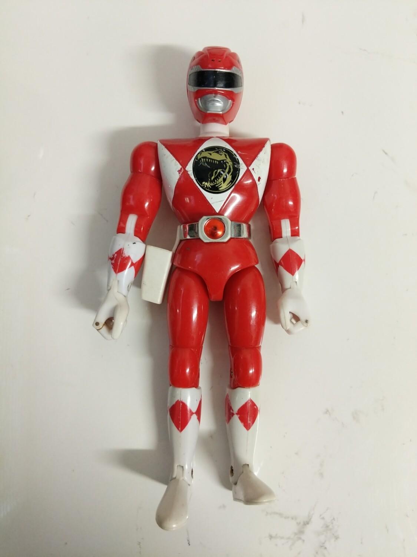 Red ranger action figure 1993