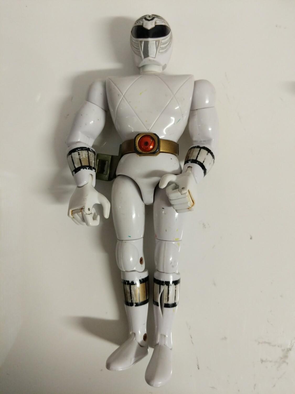 White ranger action figure 1993