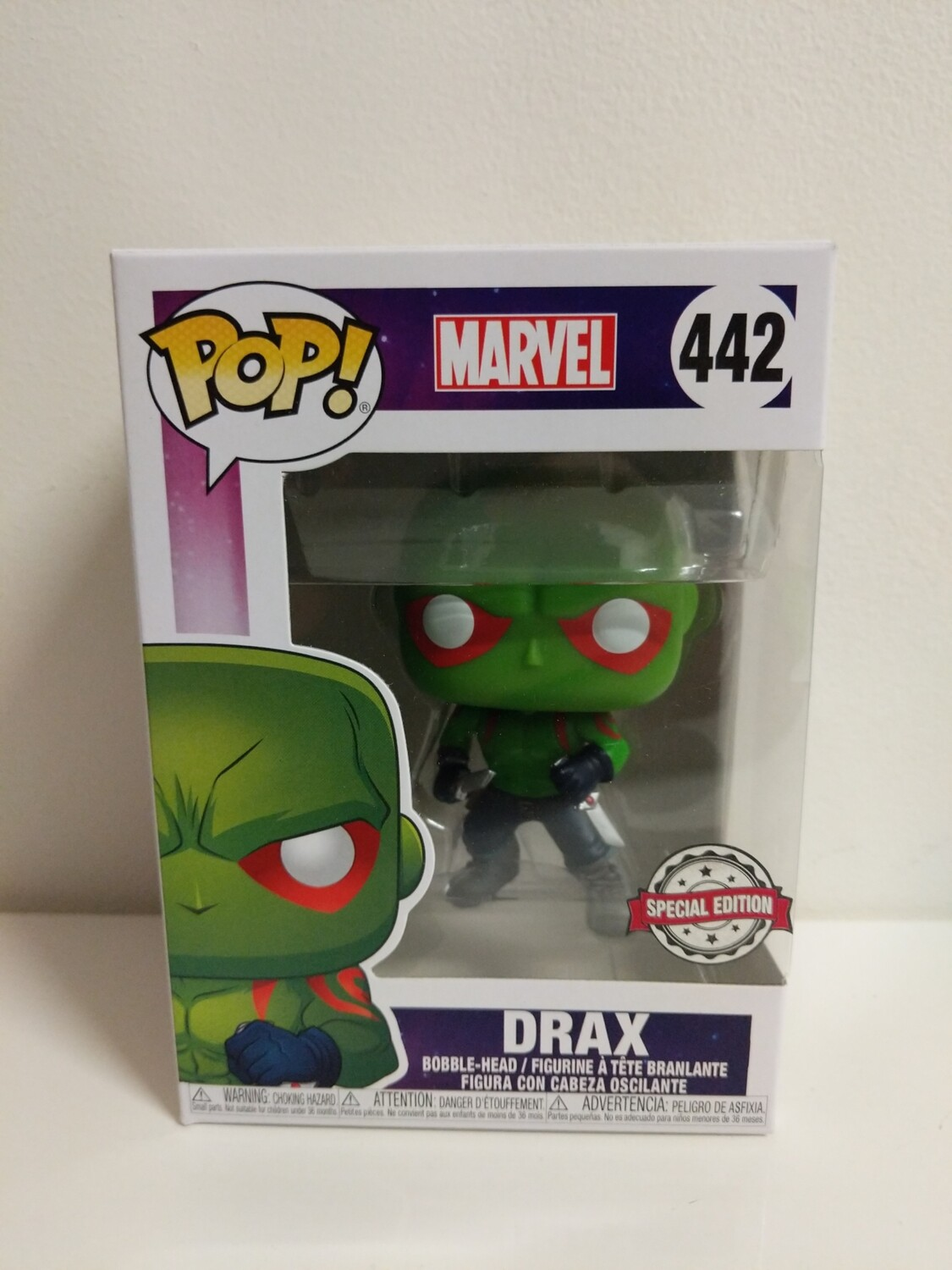 Marvel- Drax green Pop! Vinyl