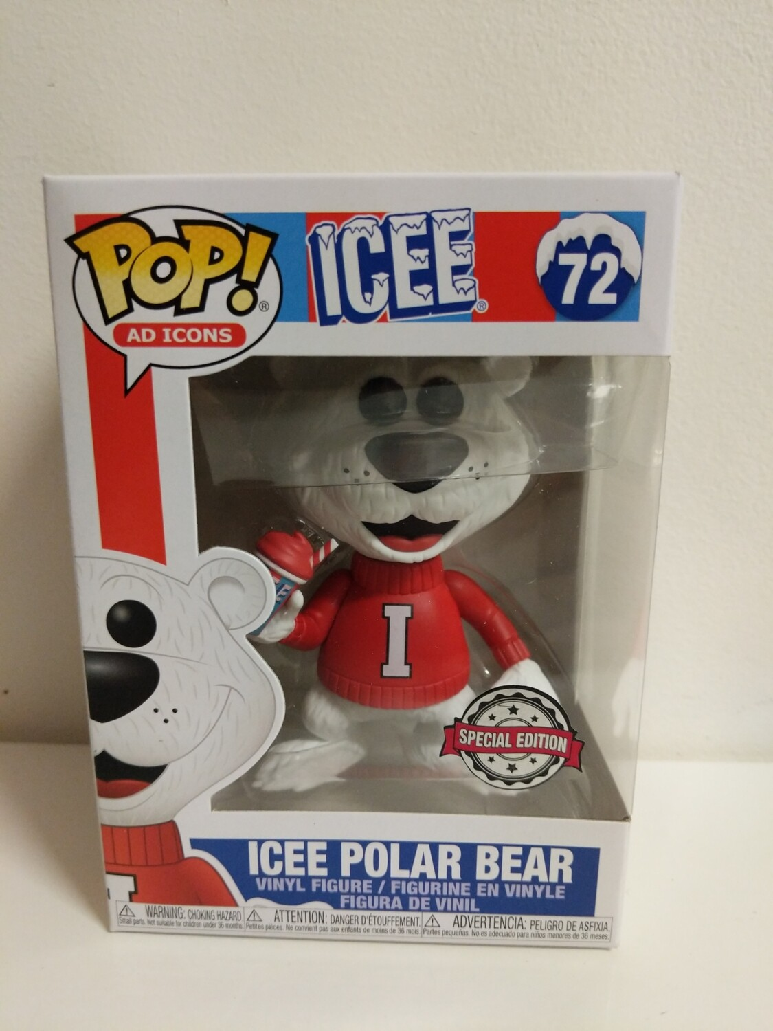 Icee-  Icee Polar Bear Pop! Vinyl