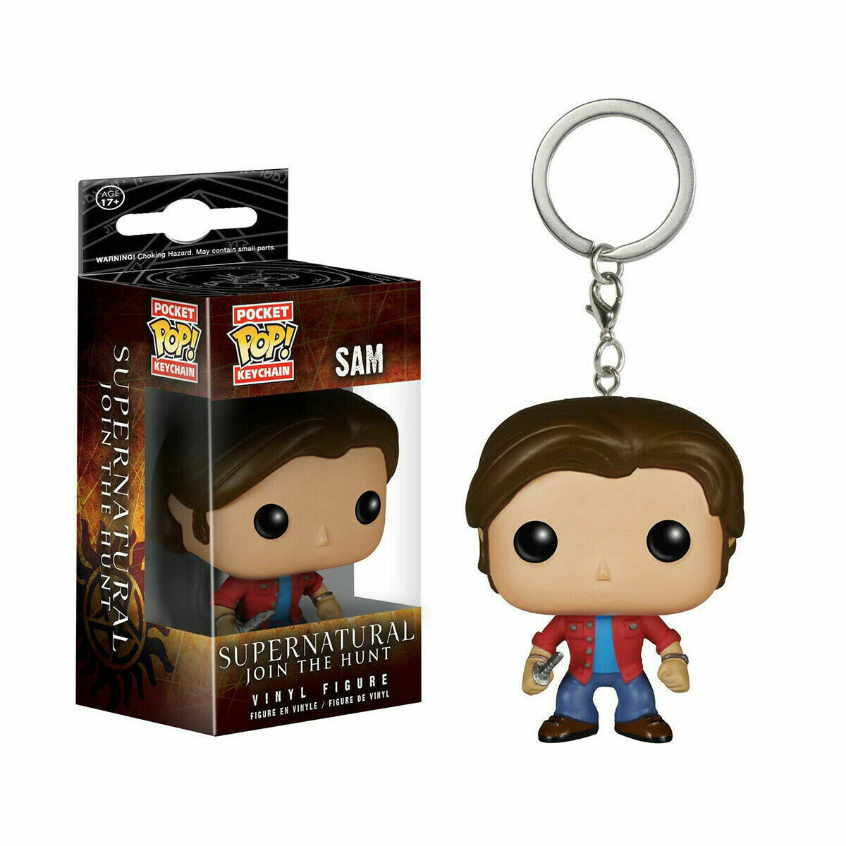 Keychain Funko Pocket Pop! Vinyl Figure - Sam supernatural