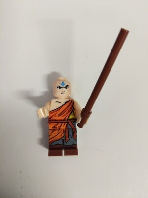 Lego Minifigure Avatar- Aang