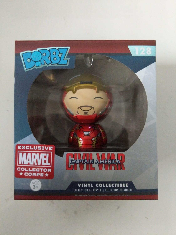 Civil war- iron man dorbz marvel collector corps exclusive