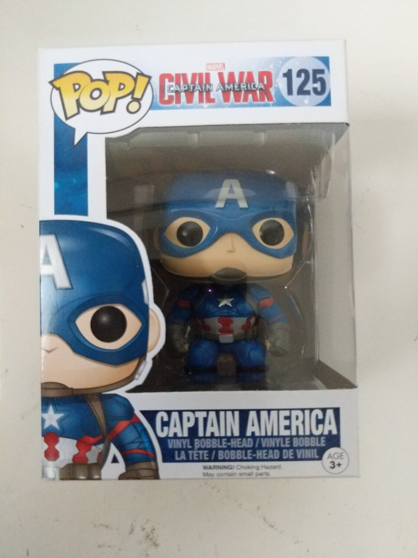 Pop Vinyl Civil War Captain America 125