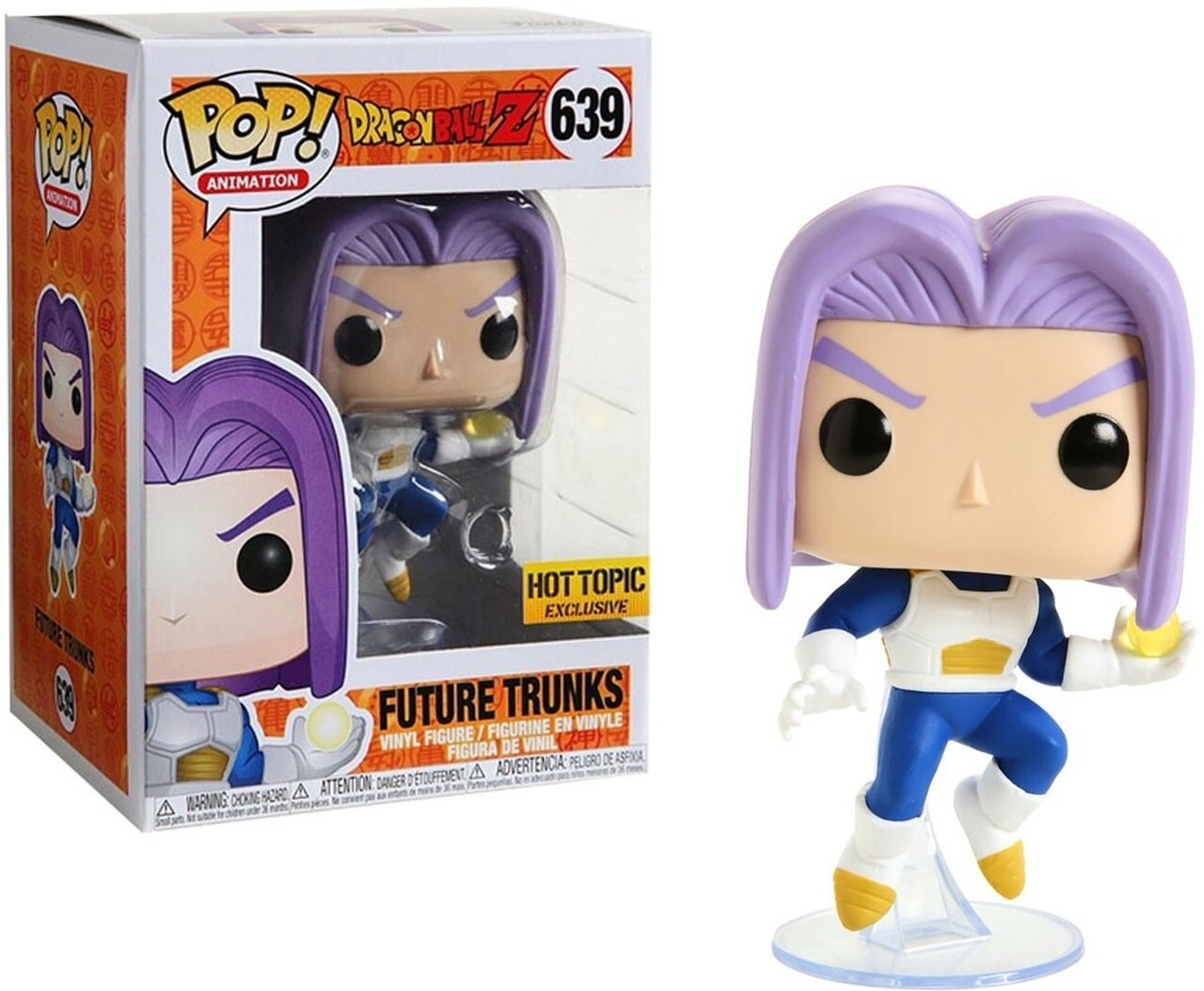 Dragon Ball Z - Future Trunks hot topic US Exclusive Pop! Vinyl