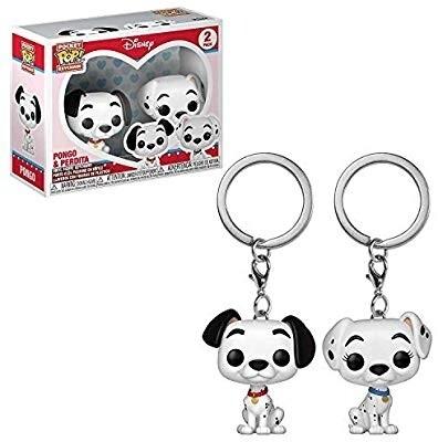 FUNKO POP! Keychain: Dalmations - Pongo & Perdita 2PK