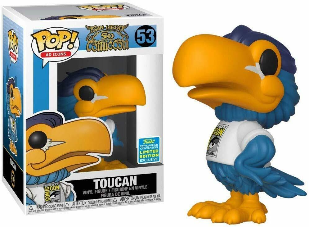 Funko Pop! Ad Icons: Toucan SDCC 2019 Exclusive