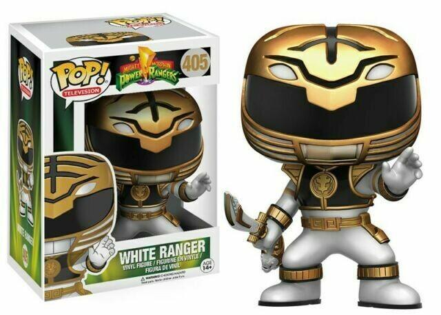 Mighty Morphin Power Rangers- White Ranger Pop Vinyl