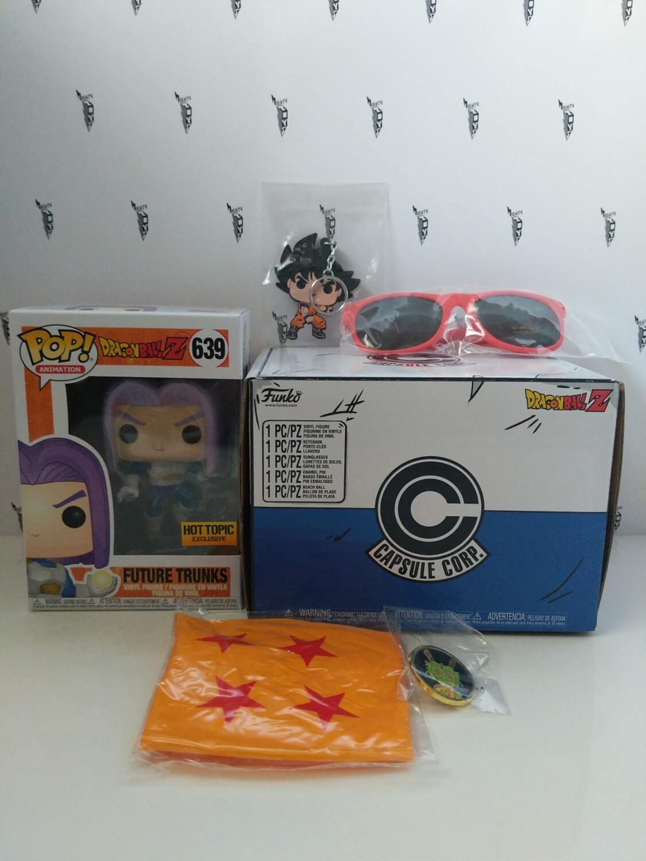 Dragon Ball Z - Future Trunks hot topic US Exclusive Pop! Vinyl box