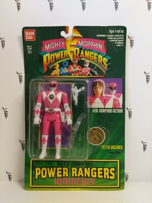 Mighty Morphin Power Rangers: Pink Ranger Auto Morph Flip Head 1993 version