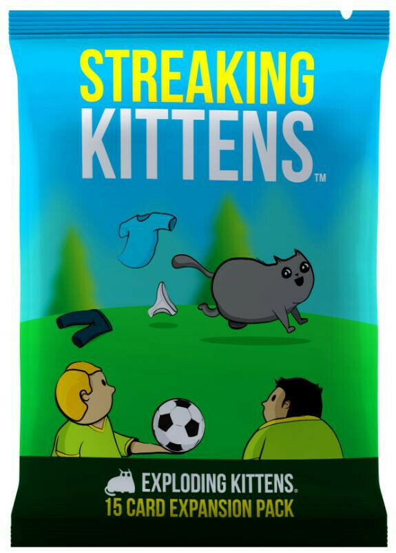 Streaking Kittens (Exploding Kittens Expansion)