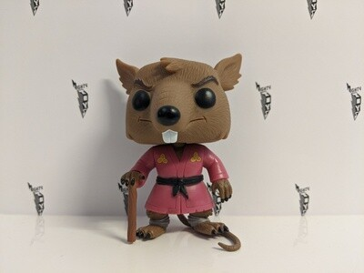 Teenage Mutant Ninja Turtle- Splinter Pop! Vinyl out of box