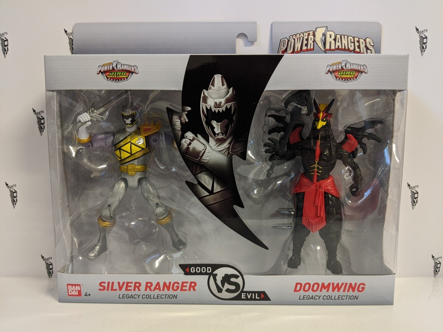 Legacy Power Rangers- Silver Ranger and Madame Odius 2 pack