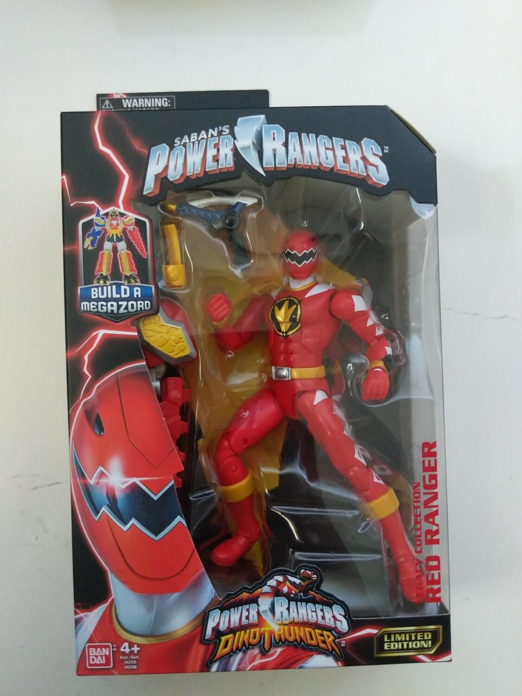 Legacy power Rangers Dino Thunder: Red Ranger baf