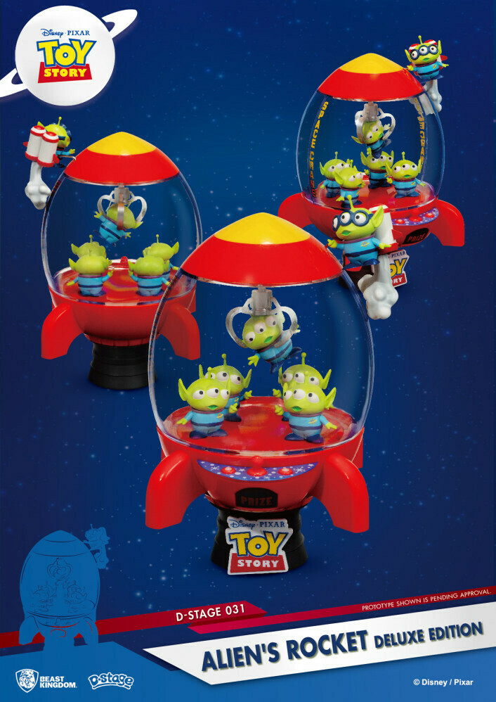 D Stage Toy Story Aliens Rocket Deluxe Edition