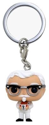 KFC - Colonel Sanders US Exclusive Pocket Pop! Keychain