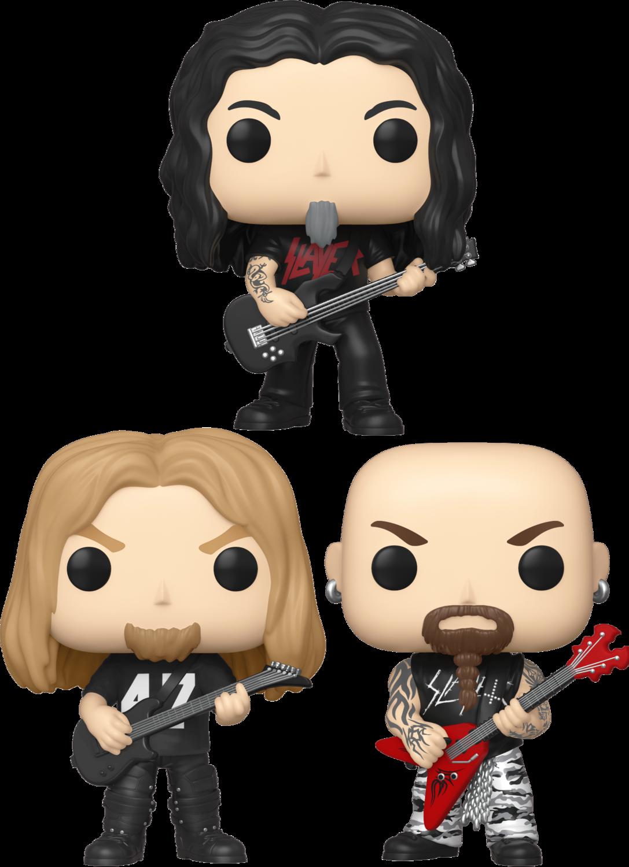 Slayer - Show No Mercy Pop! Vinyl Bundle (Set of 3)