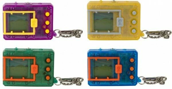 DIGIMON - ORIGINAL DEVICE- TRANSLUCENT COLOURS (SET OF 4)