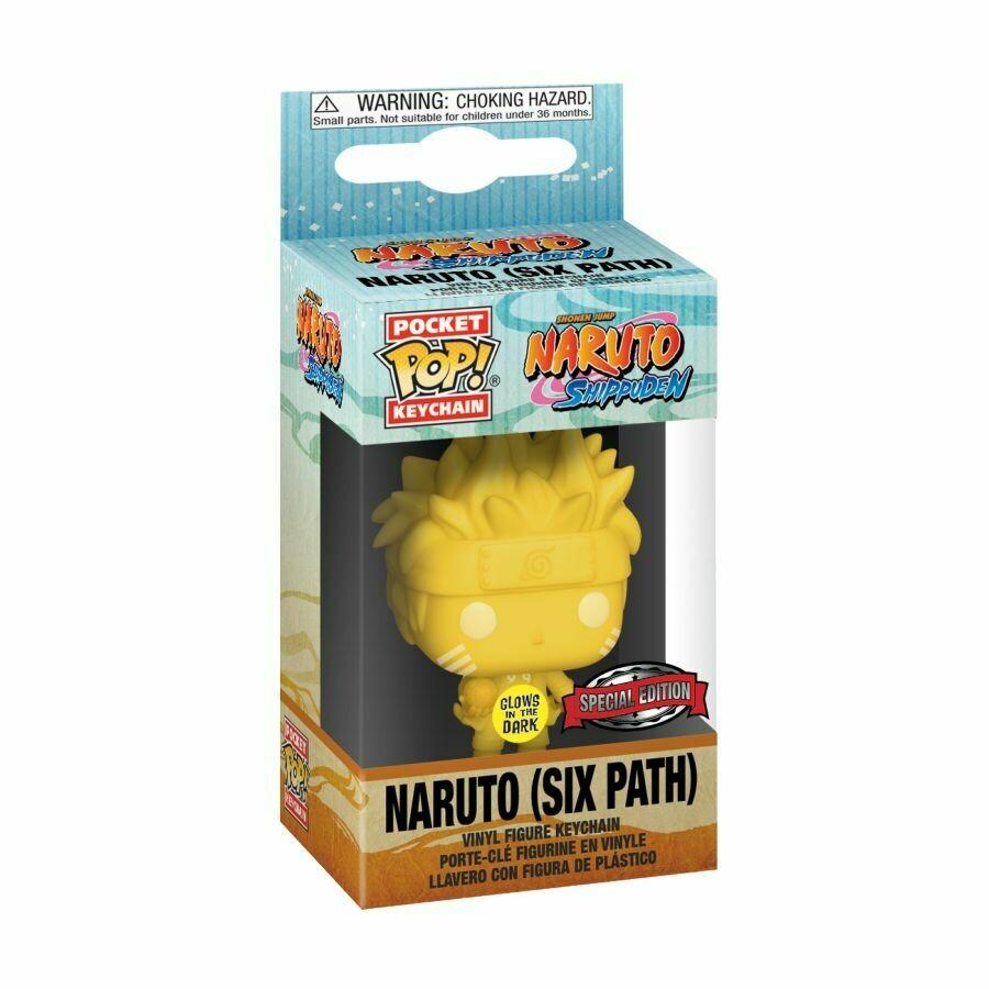 ORDER: Naruto Shippuden - Sixpath Glow US Exclusive Pocket Pop! Keychain