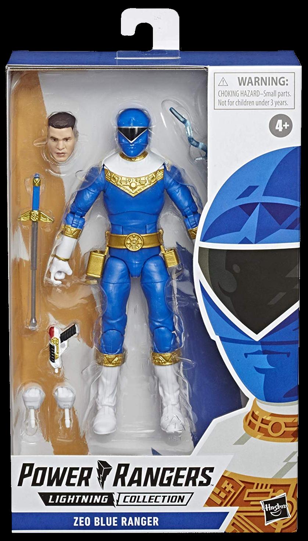"Hasbro Saban's Power Rangers - Zeo Blue Ranger Lightning Collection 6"" Action Figure"